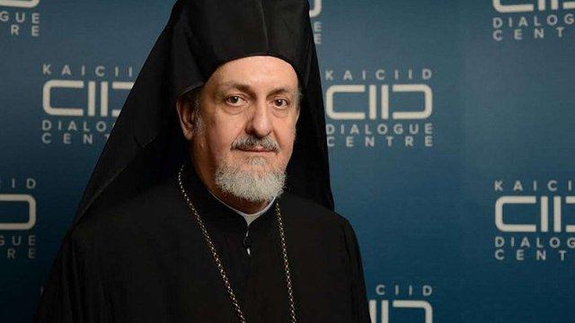 Представник Вселенського патріарха прибув до Києва для підготовки Об'єднавчого собору