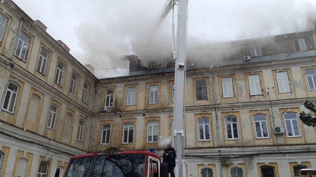 Збитки від пожежі у Львівській обласній клінічній лікарні оцінили у 1,5 млн грн