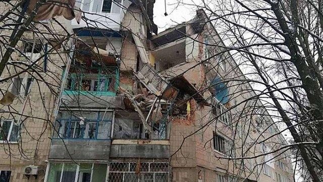 У Фастові на Київщині через вибух завалилась частина багатоквартирного будинку