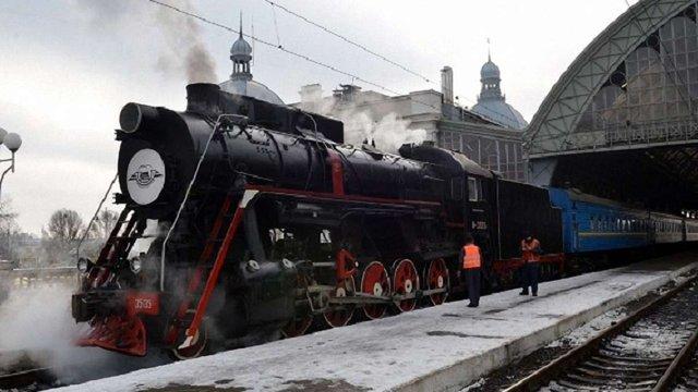 Зі Львова до Брюховичів курсуватиме святковий ретро-потяг