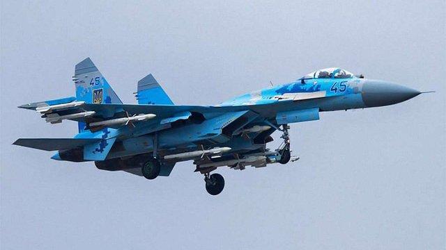 Військовий літак Су-27 розбився на Житомирщині, пілот загинув