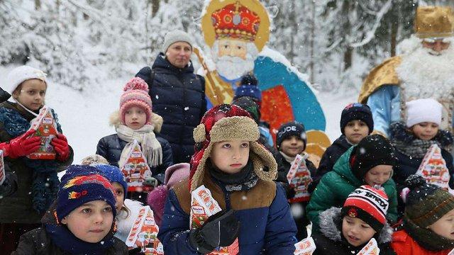 У Шевченківському гаю проводять театралізовані екскурсії зі Святим Миколаєм