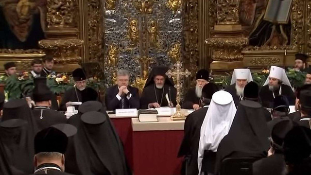 «5 канал» опублікував відео Об'єднавчого собору зсередини