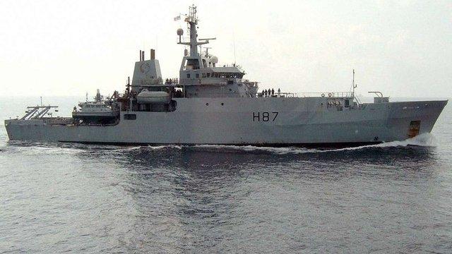 Розвідувальний корабель ВМС Великої Британії увійшов у Чорне море