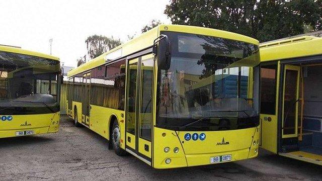Львівське АТП-1 отримало усі 100 низькопідлогових автобусів МАЗ