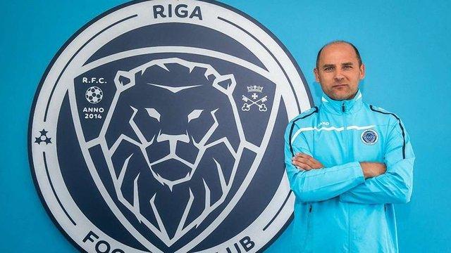 Українець став найкращим тренером чемпіонату Латвії з футболу