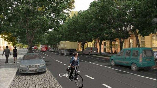 Львівська мерія затвердила ескізний проект реконструкції вулиці Бандери