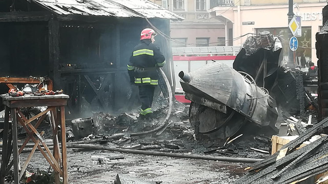 На різдвяному ярмарку у Львові стався вибух, четверо постраждалих