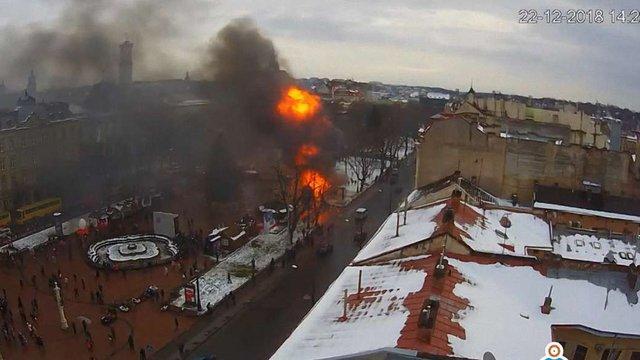 Організатори різдвяного ярмарку прокоментували вибух у центрі Львова