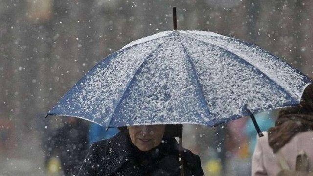 На католицьке Різдво синоптики прогнозують сніг з дощем та похолодання