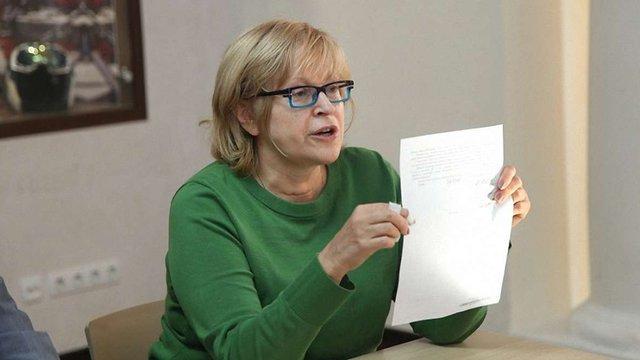 Катерину Амосову вдруге поновили на посаді ректорки медуніверситету ім. Богомольця