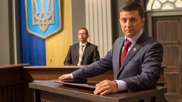 Шоумен Володимир Зеленський заявив, що його партія «Слуга народу» йде в політику