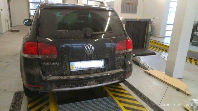 За контрабанду 340 пачок сигарет у мешканця Львівщини вилучили Volkswagen Touareg