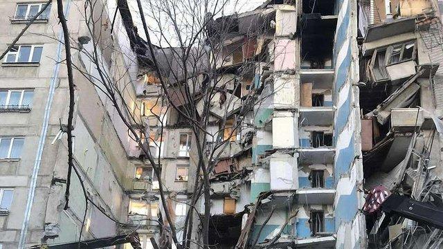 У російському Магнітогорську вибухнув під'їзд багатоповерхівки