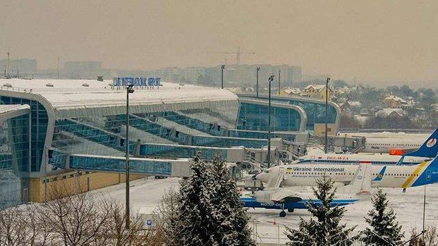 Львівський аеропорт збільшив за рік пасажиропотік майже на 50%