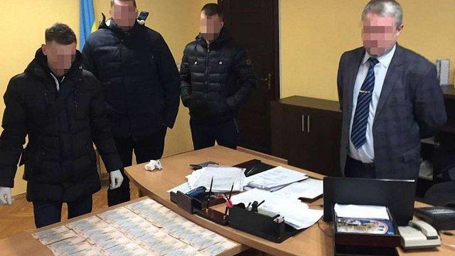 СБУ затримала на хабарі голову Сокальської РДА