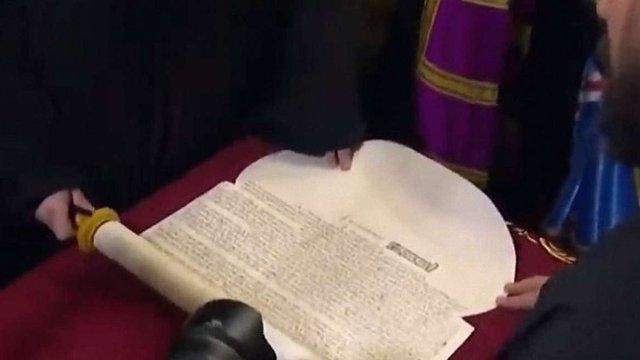 Вселенський патріарх підписав томос для Православної Церкви в Україні