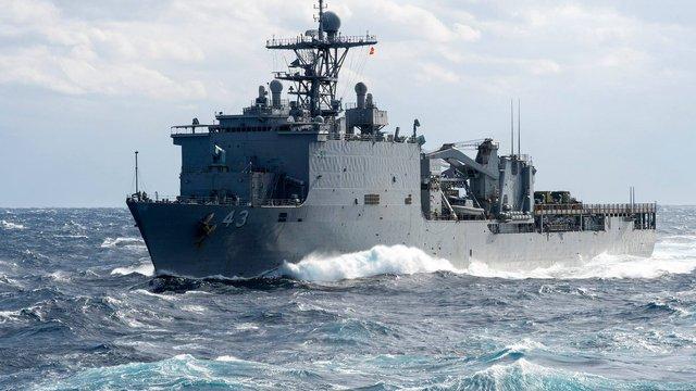 США відправили у Чорне море десантний корабель