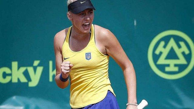 Українка Дарина Лопатецька перемогла на тенісному турнірі у Гонконзі