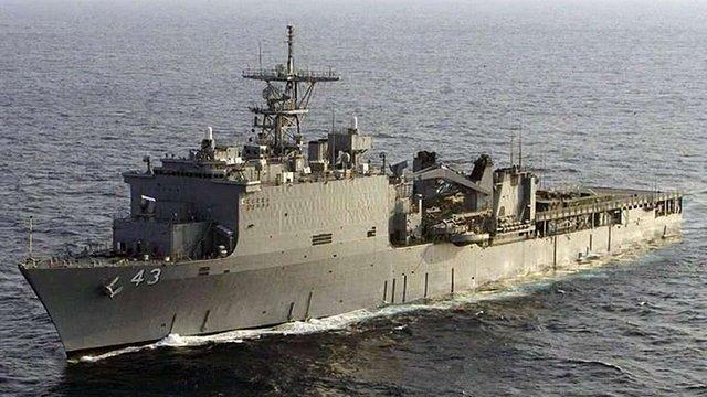 Американський десантний корабель увійшов у Чорне море