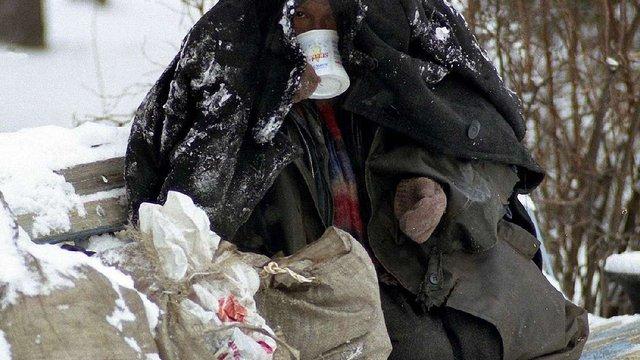 У Львові працюють два денні пункти обігріву для безпритульних