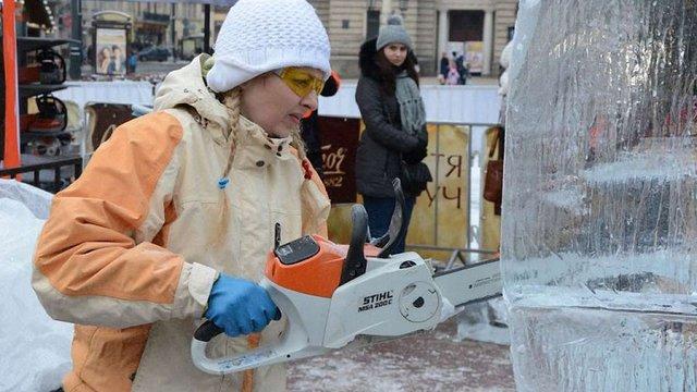 Темою конкурсу льодових скульптур у Львові цьогоріч стане творчість Пінзеля
