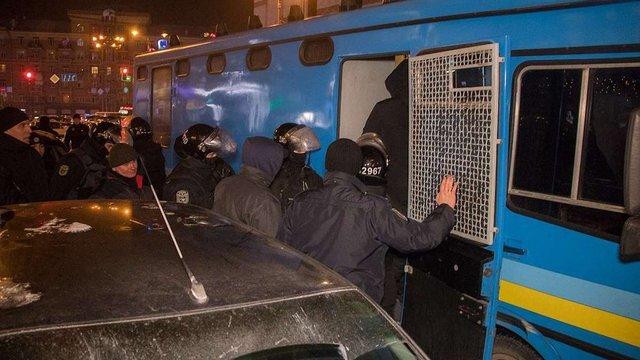 Представники шоумена Володимира Зеленського штурмували офіс в центрі Києва