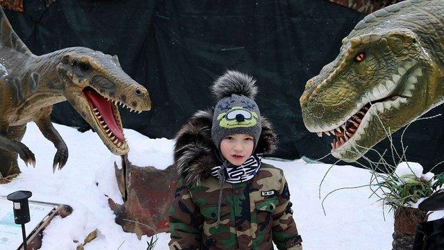 «Парк Юрського періоду»  у Львові. Фоторепортаж