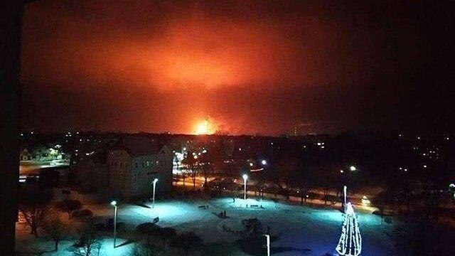 Стала відома причина масштабної пожежі на хімзаводі в Калуші
