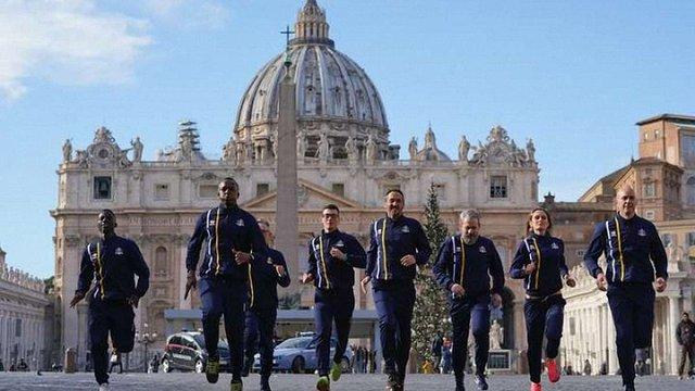 Ватикан створив свою збірну з легкої атлетики