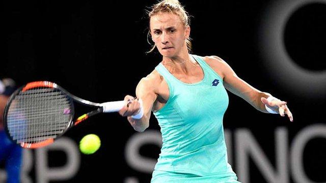 Тенісистка Леся Цуренко перемогла росіянку у першому колі Australian Open