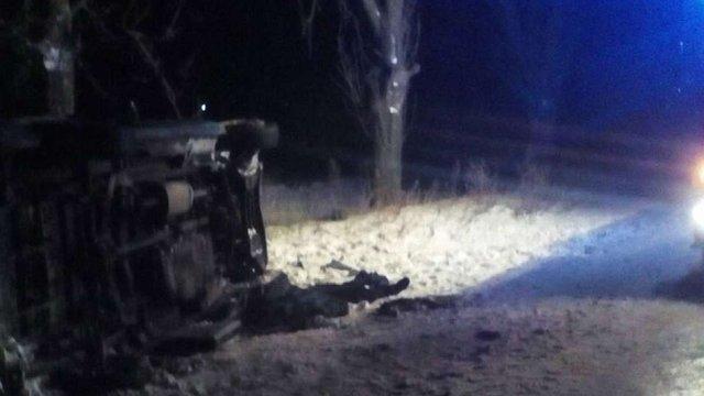 Унаслідок ДТП у Сокальському районі загинув водій та травмувалися четверо пасажирів