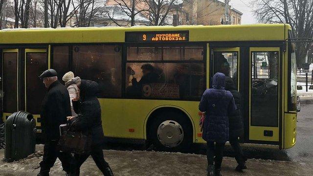 У Львові змінили схему руху сімох автобусних маршрутів