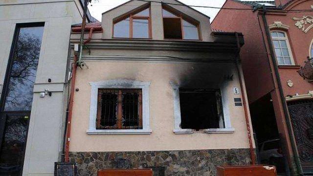 Палії Угорського центру в Ужгороді назвали ім'я німецького журналіста, який їх інструктував
