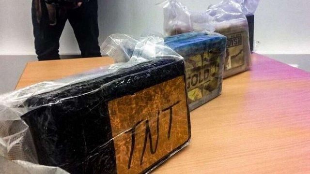 Латвійська поліція виявила партію кокаїну вартістю майже мільярд євро