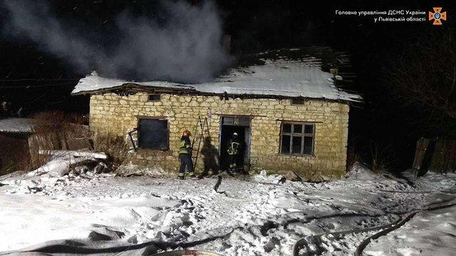 48-річний чоловік загинув внаслідок пожежі у будинку на Золочівщині