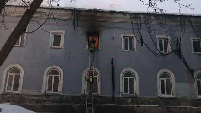 Суд заарештував підозрюваного в підпалі будівлі комплексу Києво-Печерської лаври