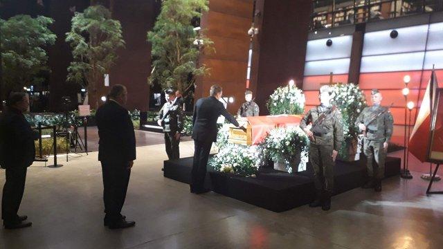 Садовий взяв участь в церемонії прощання з убитим мером Ґданська