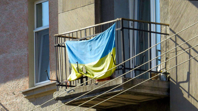 Мешканців Івано-Франківська просять до Дня Незалежності вивісити на своїх домівках державні прапори