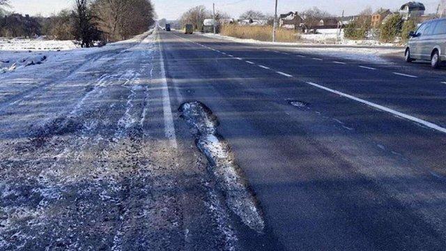 Синютка закликав водіїв скаржитись на ями на дорогах