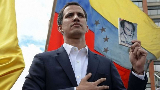Лідер опозиції Венесуели проголосив себе тимчасовим президентом країни
