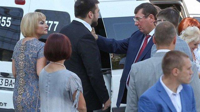 САП закрила справу проти Юрія Луценка через використання авто ГПУ на весіллі сина