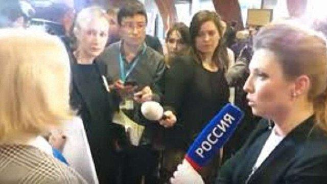 В української делегації в ПАРЄ стався конфлікт з російськими пропагандистами