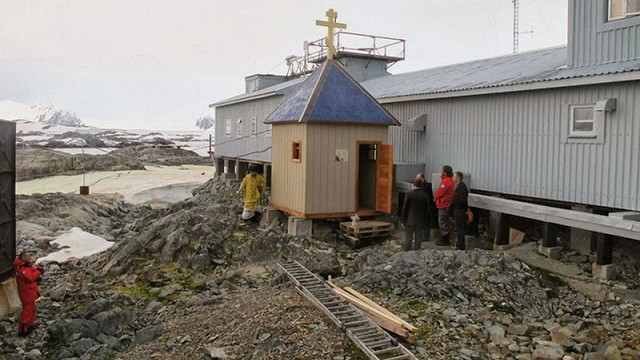 Капличка на українській полярній станції в Антарктиді може перейти до ПЦУ