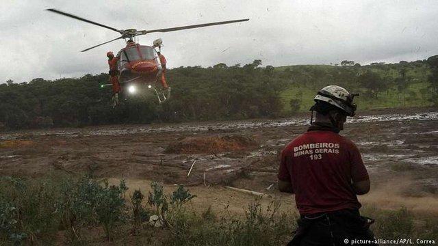 Кількість загиблих внаслідок прориву греблі на шахті в Бразилії зросла до 40