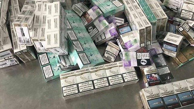 У Шегинях прикордонники виявили в автомобілі українця понад 3700 пачок сигарет