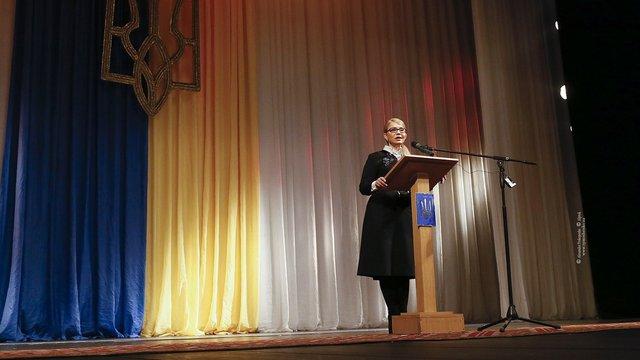 «Насамперед знизимо тарифи і спрямуємо на потреби громадян український газ», - Тимошенко