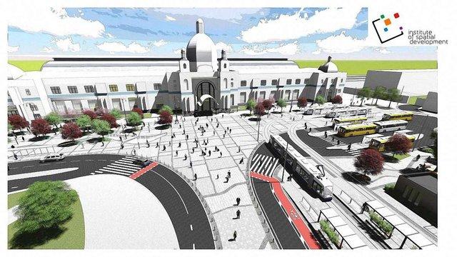 Поетапну реконструкцію площі Двірцевої у Львові розпочнуть 1 березня