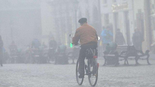Дощову погоду з туманами пообіцяли синоптики на початку лютого
