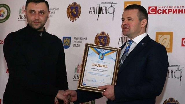 Голову ГО «Варта 1» Ігора Зінкевича нагородили за внесок у розвиток олімпійського руху